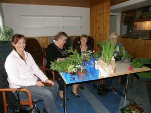 Blomskottsauktion på Söröje